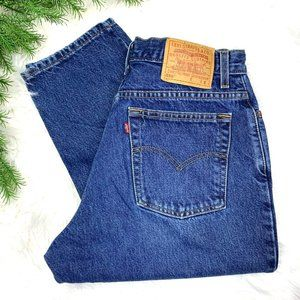👖VINTAGE |•LEVI'S•| 550 Relaxed Fit Tapered Leg👖(dbl)